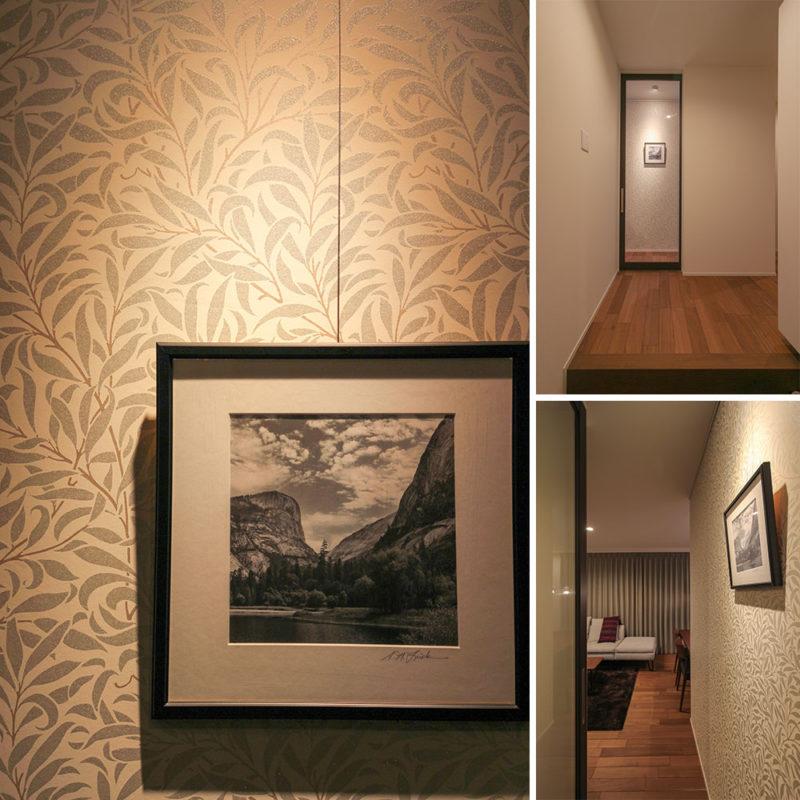 帰宅して、お気に入りのモノが出迎えてくれるアートな空間