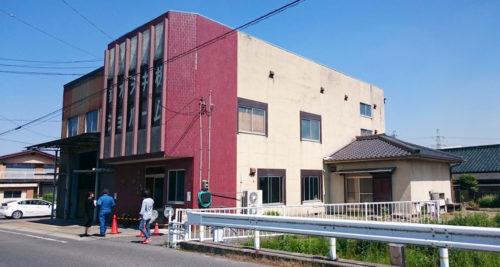 東郷町の材木問屋さんにて、外壁 リフォーム(before)