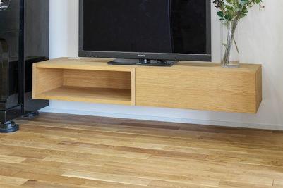 フロートテレビボード(造作家具)