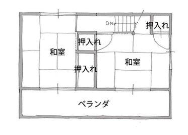 平面図(施工前)2階