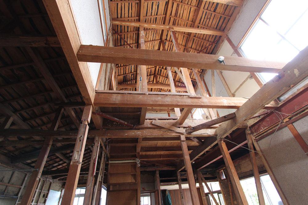 東郷町のリノベーション:耐震補強工事