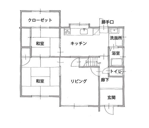 平面図(施工前)1階