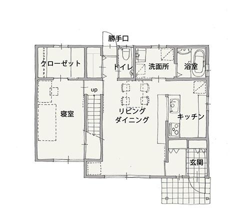 平面図(施工後)1階