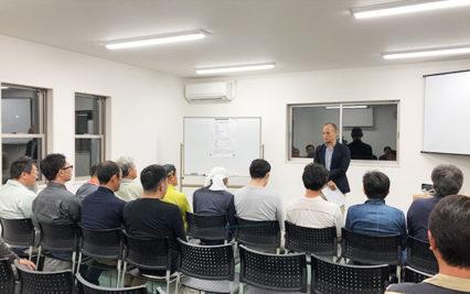 東郷町のリノベーション会社「住工房」:協力会社さんと問題点を共有