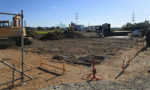 新社屋の基礎工事