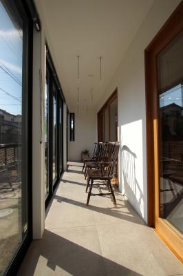 日進市の戸建リノベーション:インナーテラス