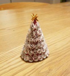手作り クリスマスツリー