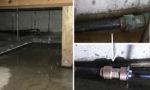 みよし市にて漏水修理