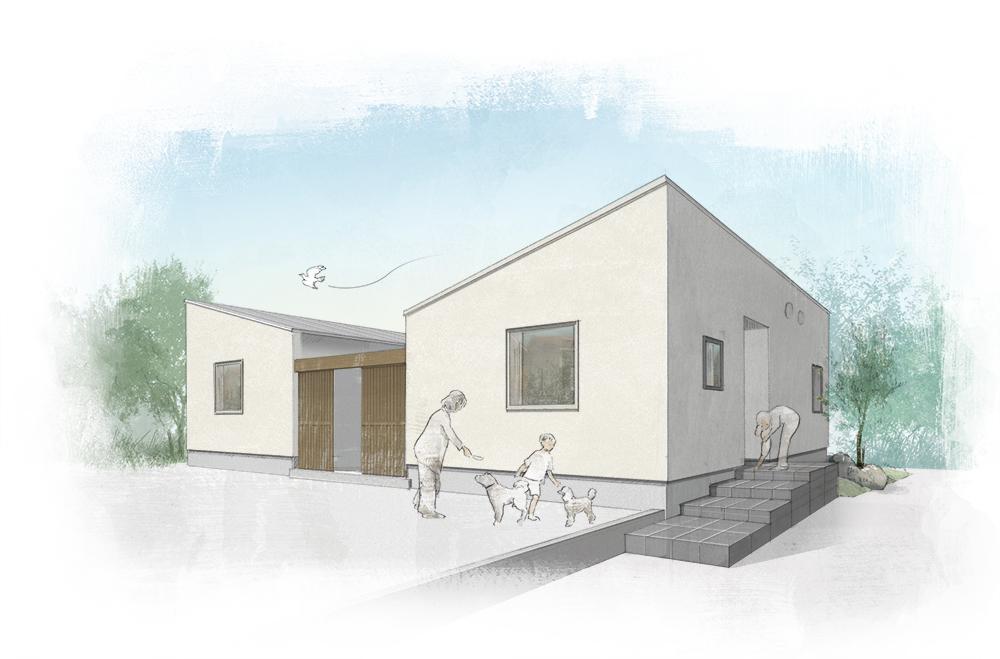 完成現場見学会(津島市)open house 「住工房の家」