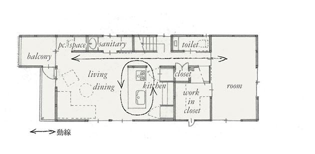 施工後 平面図 2階