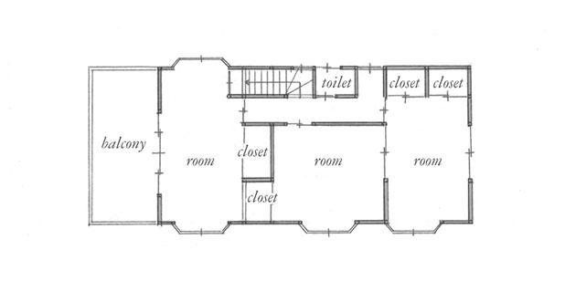 施工前 平面図 2階