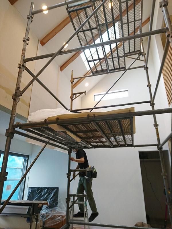 みよし市のリフォーム(増築・改装)クロス工事