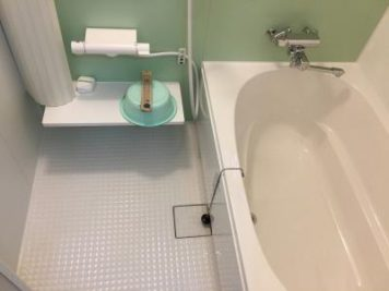 施工後:東郷町のリフォーム:タイル貼りのお風呂からユニットバス