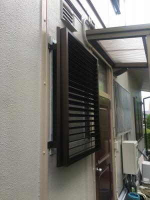 日進市リフォーム、浴室窓取替え工事後