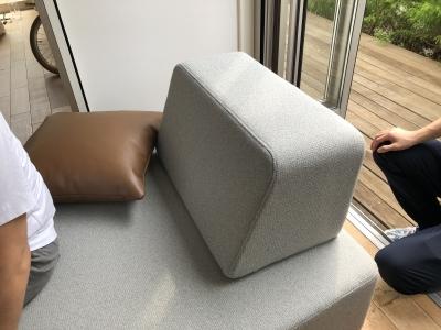 住工房オリジナルのソファー:試作品