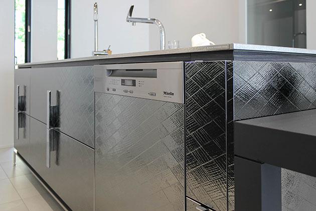ビルトインに選んだミーレの食洗機
