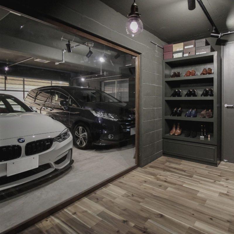 機能的ガレージ