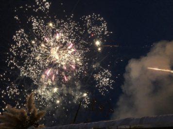 25周年イベント:花火