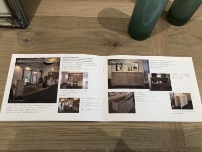 住工房新社屋のご紹介冊子:オーダー家具のページ