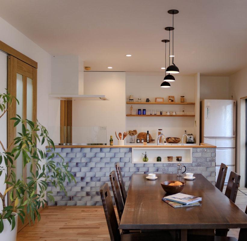 キッチンの背面収納