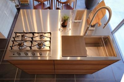 オリジナルデザインの『ミニマル キッチン』