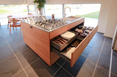 住工房のオーダーキッチン『ミニマル キッチン』