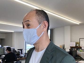 お客様の手作りマスク