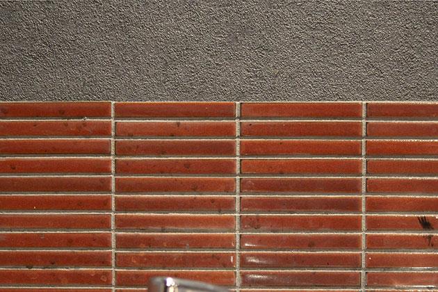 流し台の壁タイル