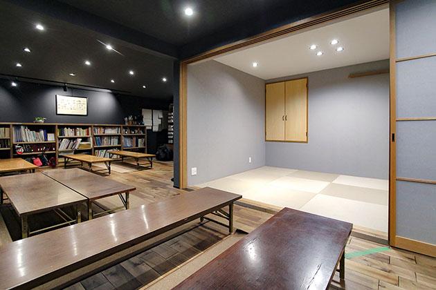 2階の書道教室