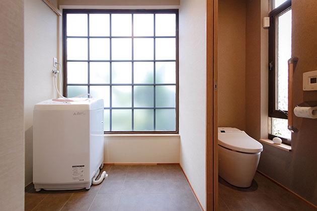 トイレと洗濯スペース