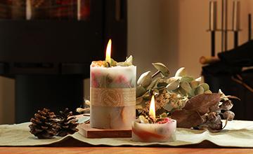 『クリスマス ボタニカルキャンドル』12月20日(水曜日)午前10:00~13:00