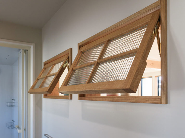 木製 室内窓