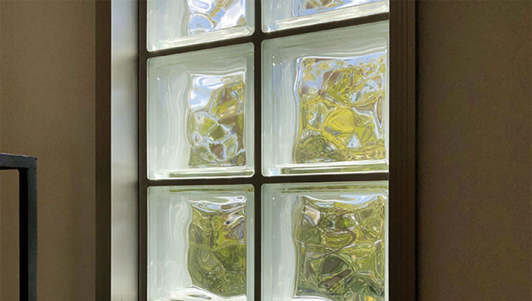 ガラスブロック窓