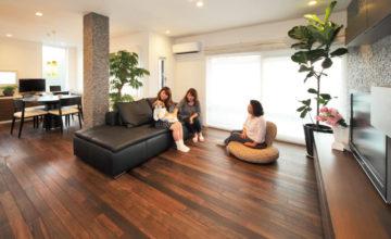 名古屋市 二世帯リノベーション|お友達を呼びたい!を叶えた、親世帯・子世帯がつながる二世帯住宅
