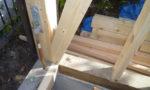 柱と土台の補修