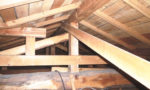 昭和56年以前の屋根裏