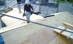 耐震認定補強:屋根の葺替