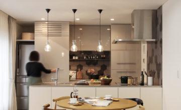 みよし市 三好ヶ丘 リノベーション<br>オーダーキッチン「カフェのように寛げる住まい」