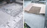 駐車場のコンクリート打設|愛知