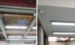 工場内の天井 造作工事|豊明市