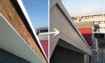 破風板の取り替え工事