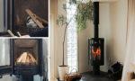 暖炉の季節