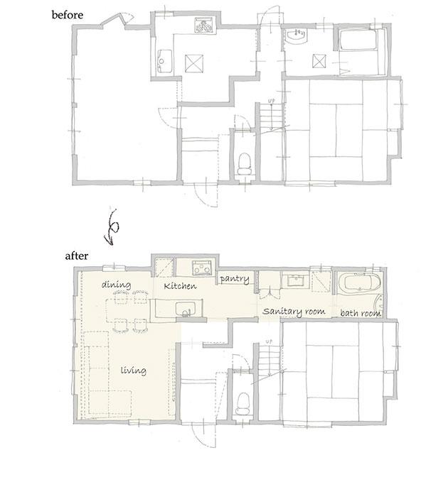 名古屋市緑区w様邸の平面図