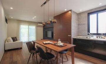 みよし市にて「素材やデザインにこだわってアーバンな空間へ」
