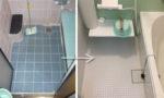 東郷町のリフォーム:タイル貼りのお風呂からユニットバス